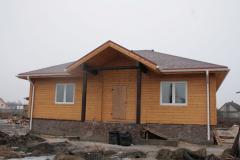 Дома срубы деревянные из цельного профилированного