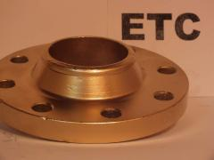 Flanges from copper alloys