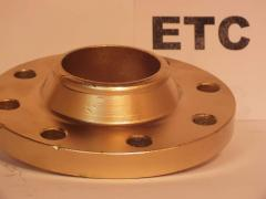 Flanges from the alloyed steel