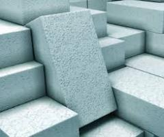 Blocks are wall thermoinsulating