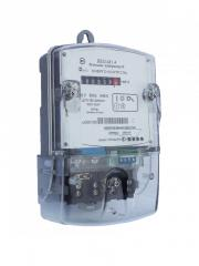 Electric meters are electronic single-phase