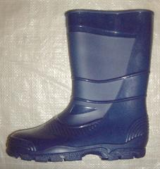 Boots molding of PVC (female)