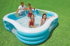 Pool of inflatable Intex 229 × 229 × 56