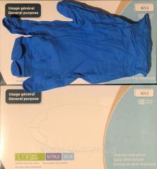 Перчатки MEDICOMSafeTouch нитриловые неопудренные