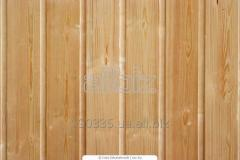 Lining wooden pine