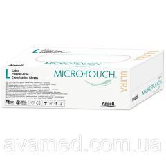Перчатки MICRO-TOUCH ULTRA II,  латексные...
