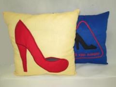 Pillow of an avtomob_ln of 35х35 cm