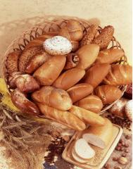 Хлебобулочные изделия из пшеничной муки.