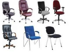 Кресла для руководителей, кресла для персонала,