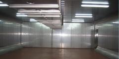 Industrial refrigerating appliances