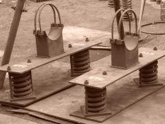 Материалопроводы - опоры пружинные