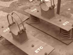 Опоры трубопроводов пружинные