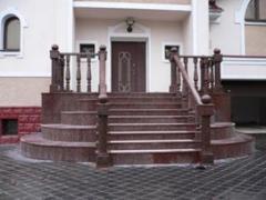 Ступени гранитные ,лестницы.