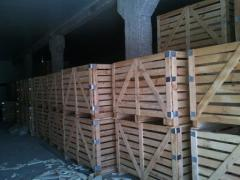 Boxes wooden for expor