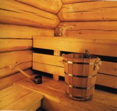 Accessories to a bath and sauna, Steamer