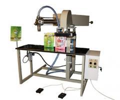 Полуавтомат для наполнения и запечатывания пакетов