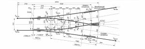 Symmetric railroad switches