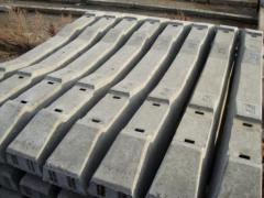 Ferroconcrete ties
