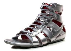 Кожаные сандали гладиаторы
