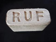Briquettes sales in Ukraine, briquettes RUF, wood