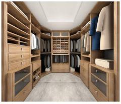 Гардеробные комнаты изготовление встроенных и