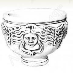 Bowls, vases, cups of Art.No. 197