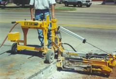 Equipment for drilling of concrete of E-Z DRILL