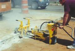 Equipment for drilling of concrete of E-Z DRILL
