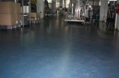 Floors concrete for warehouses, industrial