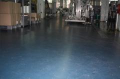 Полы бетонные для складов, промышленные бетонные