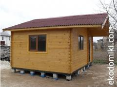 Домики деревянные дачные недорого