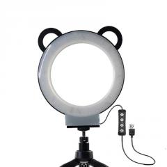 Кольцевая лампа с пультом Mount Dog (15 см) 2 в 1
