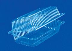 Plastic food containers, blisterny packing,