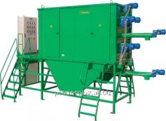 Separator electrostatic drum EBS type