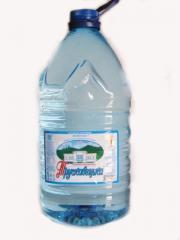 Вода бутилированная Трускавецкая 5 литров