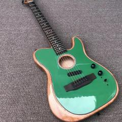 Акустическая гитара полуакустическая Fender
