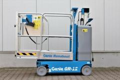 Genie GR-12 мачтовая подъемная платформа выпуск