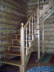 Проектирование и изготовление деревянных лестниц