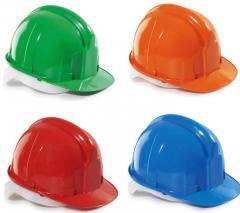 Helmet protective Versatile person (orange, white,