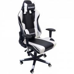 Крісло геймерське Bonro 2011-А біле