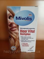 Вітаміни для волосся Mivolis Haar Vital Komplex