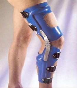 Orthoses on a knee joint hinged (devices), Sale of
