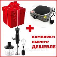 Комплект: блендер DOMOTEC MS-5103 3в1 +