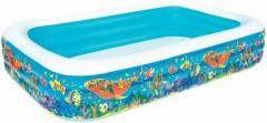 Детский бассейн надувной 54121, 3 кольца