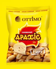 Roasted peanuts with taste of cheese, 35 g