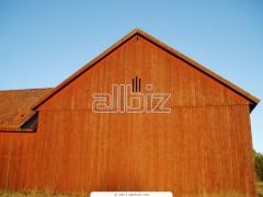 Houses panel wooden