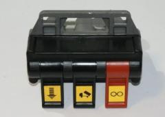 Свич 3 кнопки (4 отверстия) пневматический