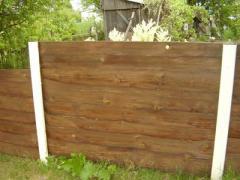 Ограды дачные деревянные под заказ, Киев