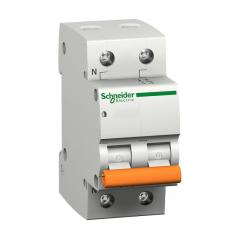 Автомат электрический Schneider Electric ВА63 2П