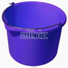 Buckets plastic oval | bucket economic